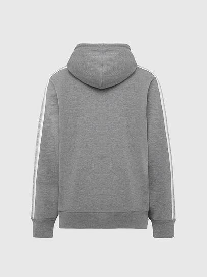 Diesel - UMLT-BRANDON-Z, Light Grey - Sweatshirts - Image 2