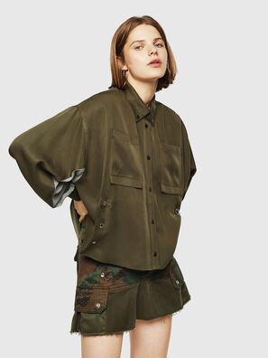 C-LEXYS, Vert Militaire - Chemises