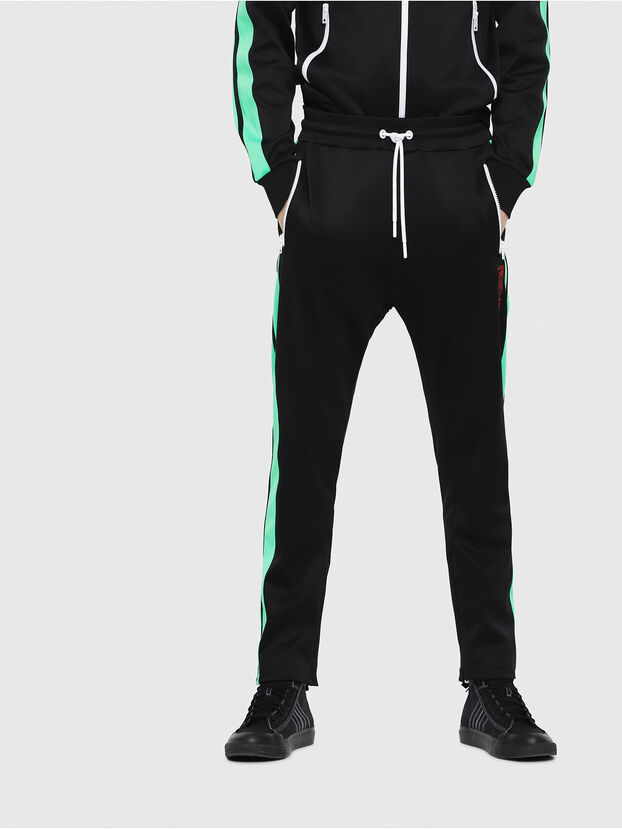 P-RUSSY-BAND, Black/Green - Pants