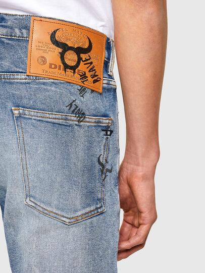 Diesel - D-Kras 009VW, Bleu Clair - Jeans - Image 4