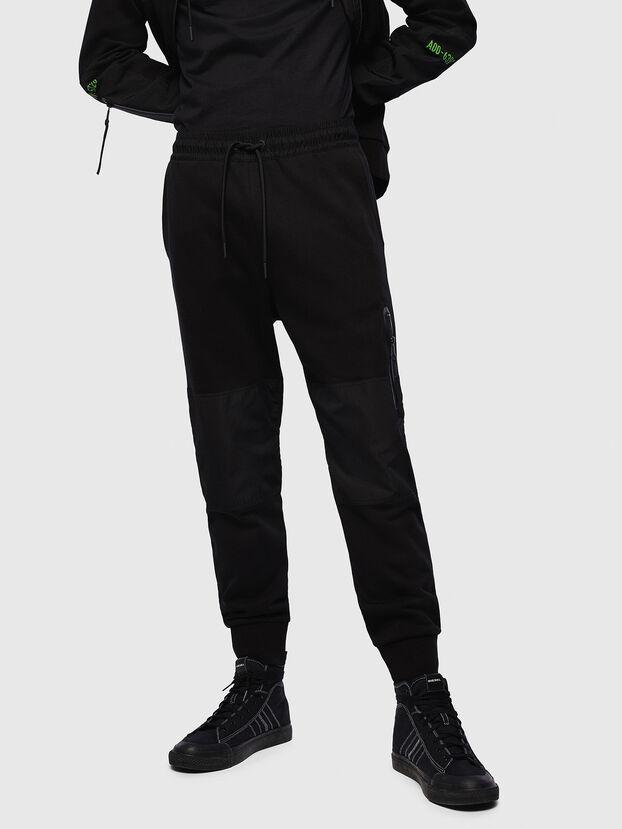 P-ORTEX, Noir - Pantalons