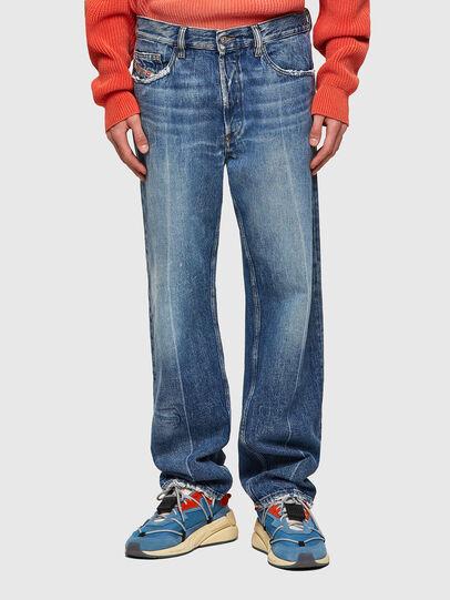Diesel - D-Macs 09A25, Bleu moyen - Jeans - Image 1