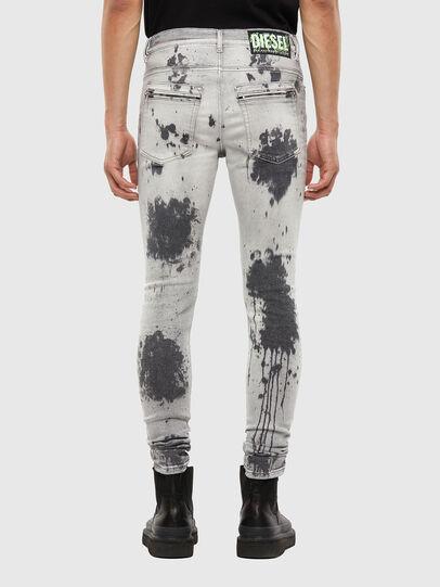 Diesel - D-Amny 009GM, Gris Clair - Jeans - Image 2