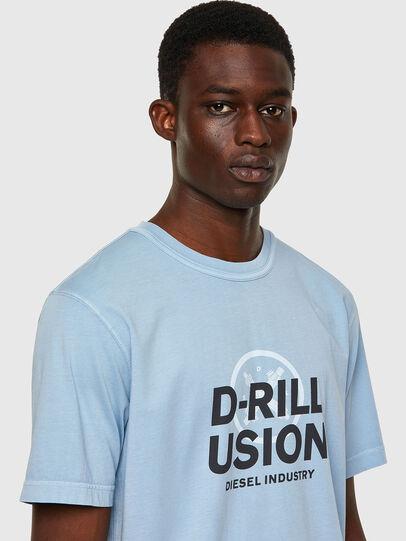 Diesel - T-JUBINDY, Bleu Clair - T-Shirts - Image 3