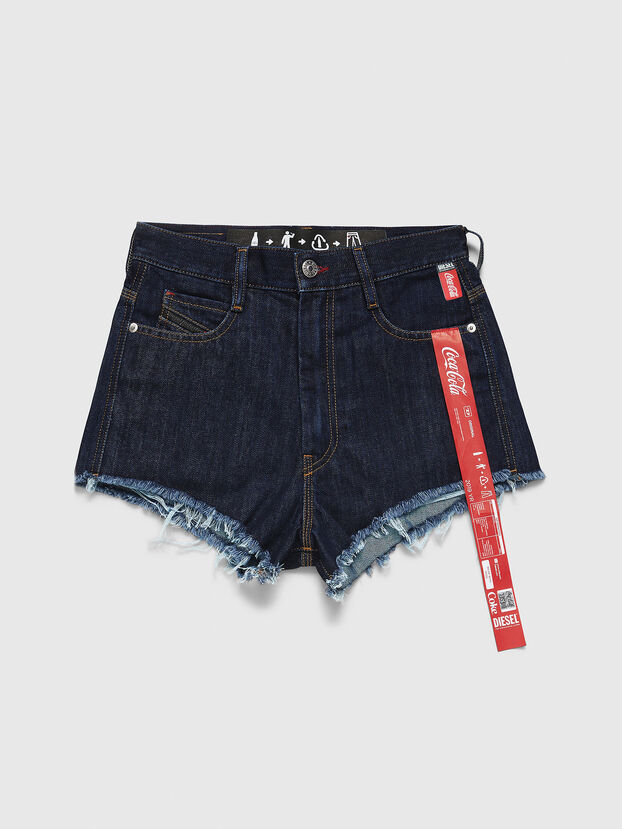 CC-DE-KRIS, Bleu Foncé - Shorts