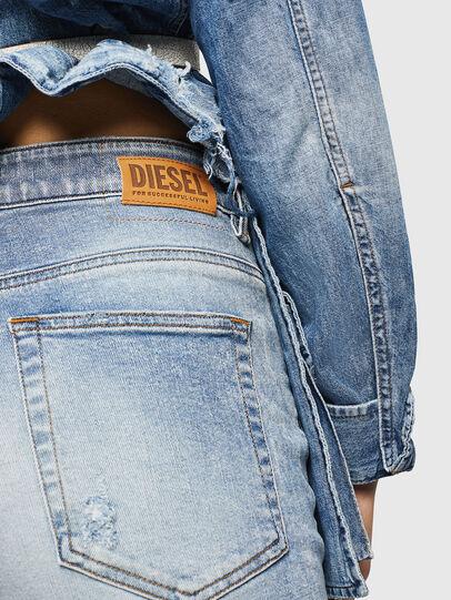 Diesel - D-Eiselle 084AA, Bleu Clair - Jeans - Image 5