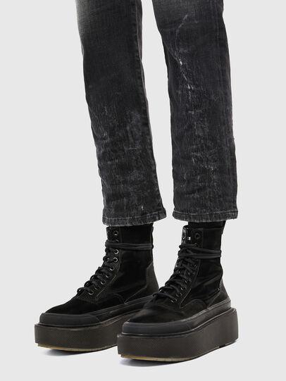 Diesel - D-Eiselle 009IU, Noir/Gris foncé - Jeans - Image 6