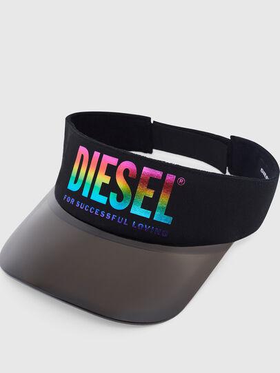 Diesel - VISOR-MAX-P, Black - Caps - Image 3