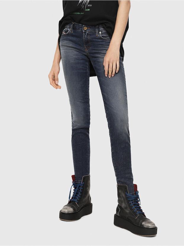 Gracey JoggJeans 069FG, Bleu Foncé - Jeans