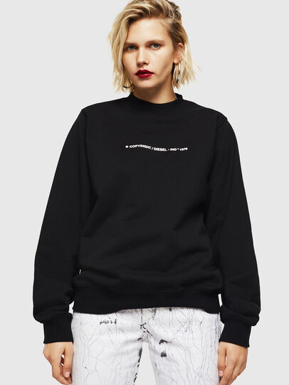 Diesel - F-ANG-COPY, Noir - Pull Cotton - Image 4