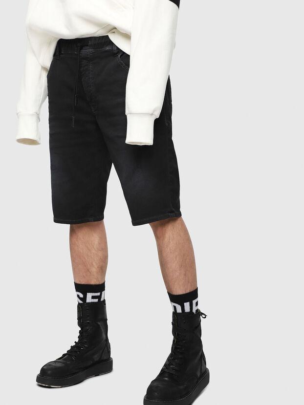 D-KROOSHORT JOGGJEANS, Black - Shorts