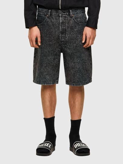 Diesel - D-MAXS-SP, Noir - Shorts - Image 1