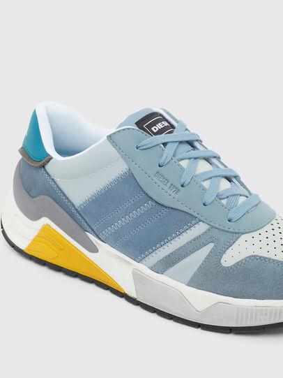 Diesel - S-BRENTHA FLOW, Light Blue - Sneakers - Image 4