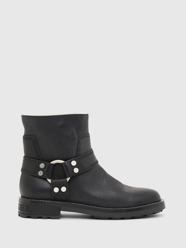 D-THROUPER AB W, Noir - Bottines