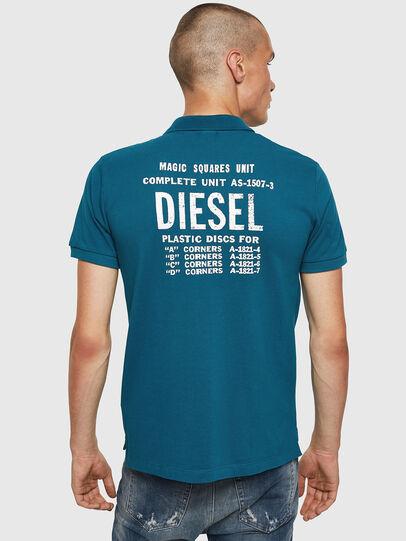 Diesel - T-SKATT-B2, Blue Marine - Polos - Image 2