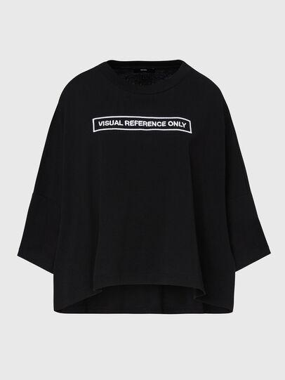 Diesel - T-CRAMBLE, Noir - T-Shirts - Image 1