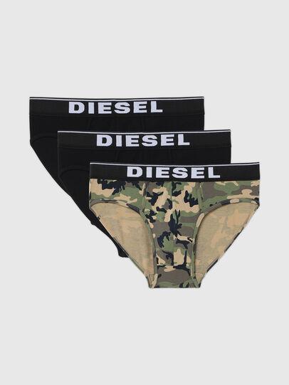 Diesel - UMBR-ANDRETHREEPACK, Gris/Noir - Culottes - Image 1