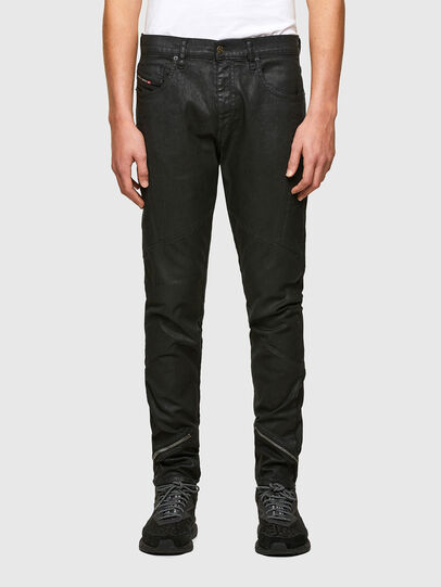 Diesel - D-Strukt 069TK, Noir/Gris foncé - Jeans - Image 1