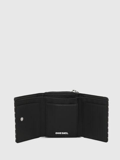 Diesel - SPEJAP, Black/White - Small Wallets - Image 3