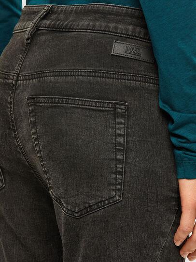 Diesel - FAYZA JoggJeans® 009HM, Noir/Gris foncé - Jeans - Image 4