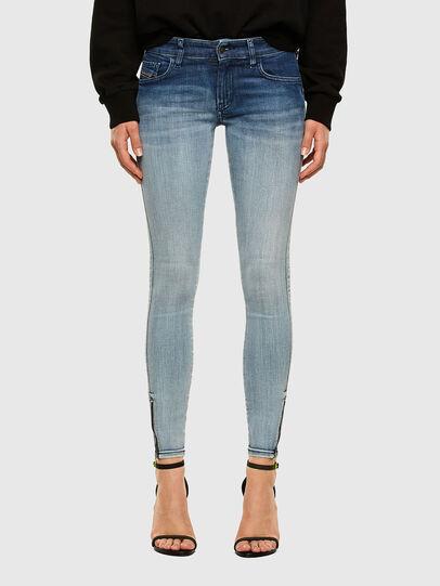 Diesel - Slandy Low 009CV, Bleu Clair - Jeans - Image 1