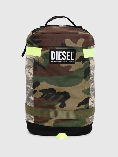 Diesel - PIEVE, Vert Camouflage - Sacs à dos - Image 1