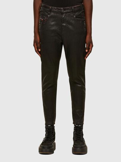 Diesel - FAYZA JoggJeans® 069PG, Noir/Orange - Jeans - Image 1