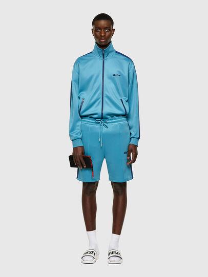 Diesel - P-KURLY, Bleu Clair - Shorts - Image 4