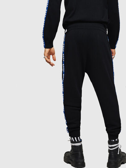 Diesel - K-SUIT-B, Noir/Bleu - Pantalons - Image 2