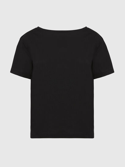 Diesel - T-RYLY, Noir - T-Shirts - Image 1