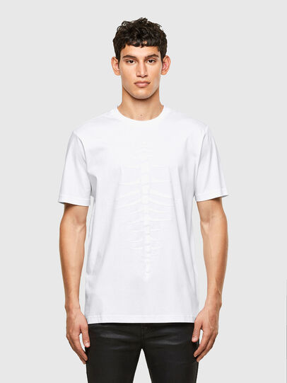 Diesel - T-JUST-A31, Blanc - T-Shirts - Image 1