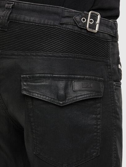 Diesel - D-Derrot JoggJeans 069QY, Noir/Gris foncé - Jeans - Image 4