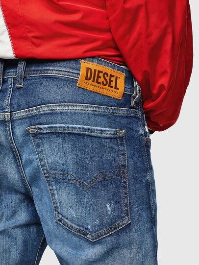 Diesel - Sleenker 069FY, Bleu moyen - Jeans - Image 4