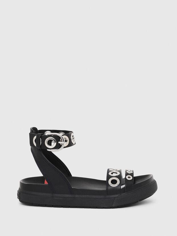 SA-GRAND LCE, Black - Sandals