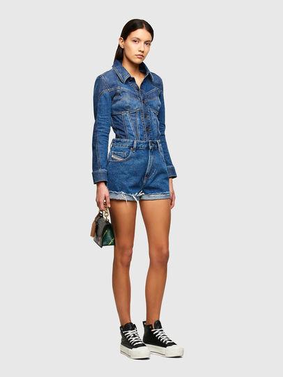 Diesel - DE-REG-R, Bleu moyen - Shorts - Image 5