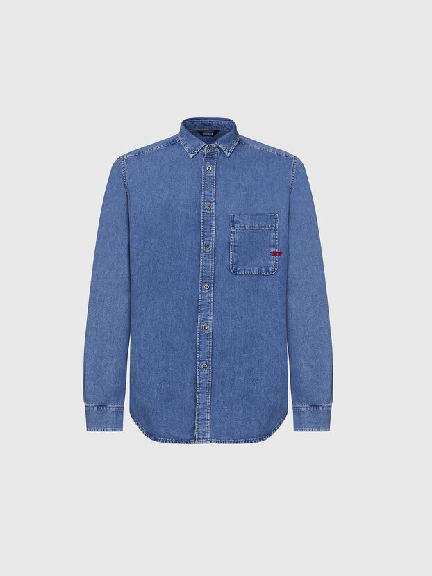 D-BILLY, Light Blue - Denim Shirts