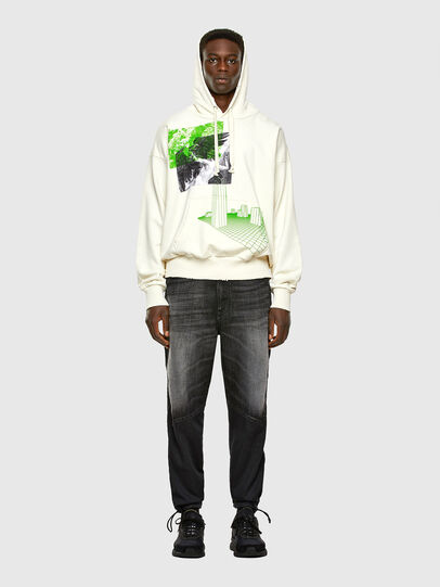 Diesel - S-ALBY-X2, Blanc - Pull Cotton - Image 5