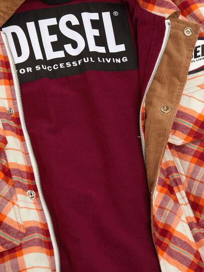 Diesel - J-TANIFER, Rouge/Blanc - Vestes - Image 5