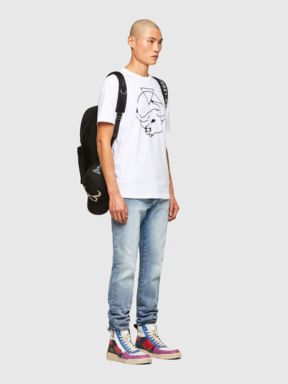 Diesel - CL-T-JUST-O, Blanc - T-Shirts - Image 7