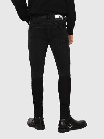 Diesel - D-Istort 082AM, Black/Dark Grey - Jeans - Image 2