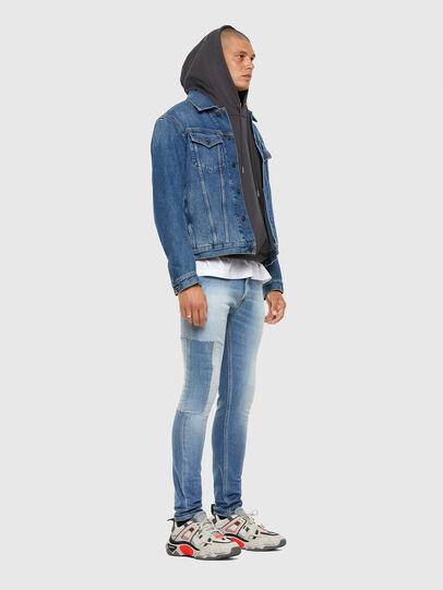 Diesel - Tepphar 009FJ, Bleu Clair - Jeans - Image 8