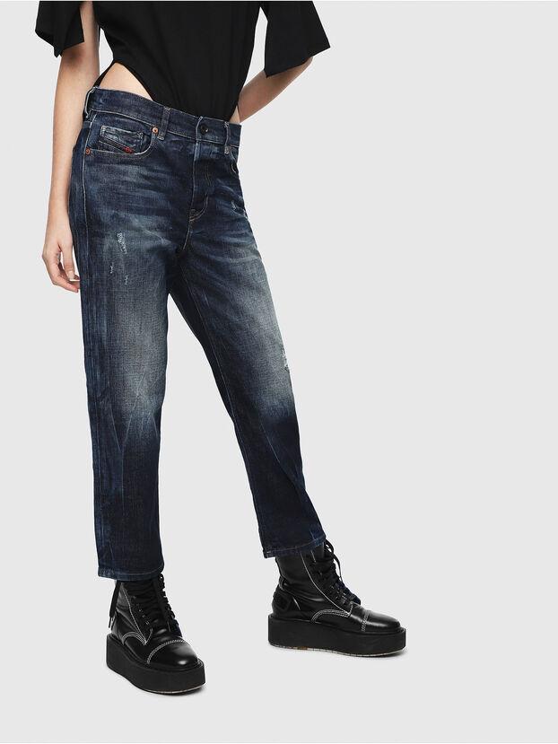 Aryel 089AL, Bleu Foncé - Jeans