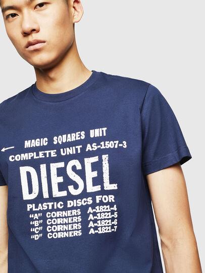 Diesel - T-DIEGO-B6, Bleu - T-Shirts - Image 3