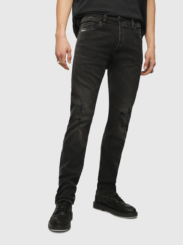 Safado CN013, Black/Dark Grey - Jeans