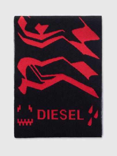 Diesel - K-BRANKO, Noir/Violet - Écharpes - Image 1