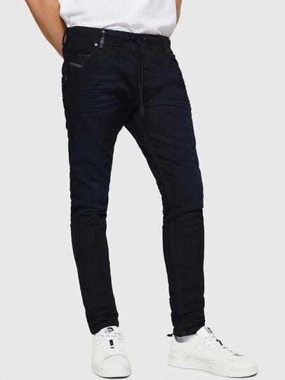 Diesel - Krooley JoggJeans 0829P, Bleu Foncé - Jeans - Image 1