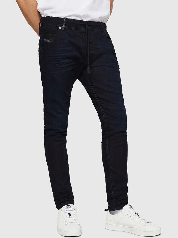 Krooley JoggJeans 0829P, Bleu Foncé - Jeans