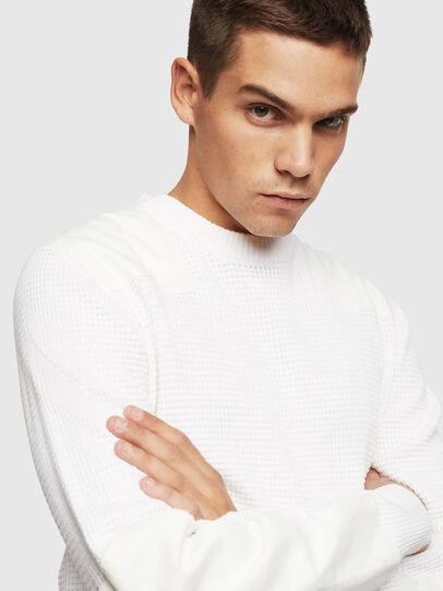 Diesel - K-LESTER, White - Sweaters - Image 3
