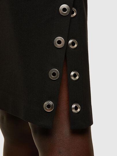 Diesel - D-CROLLER, Noir - Robes - Image 4