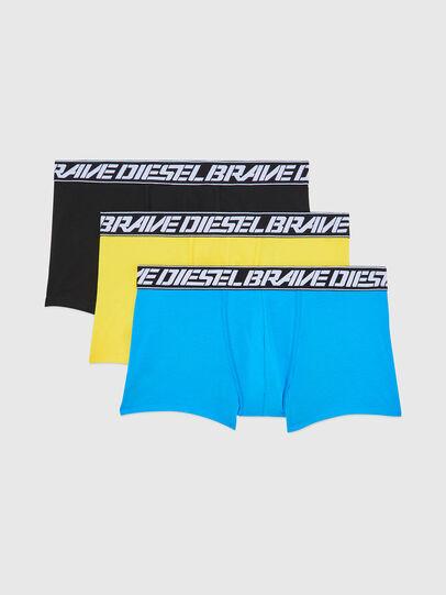 Diesel - UMBX-DAMIENTHREEPACK, Bleu/Jaune - Boxeurs courts - Image 1